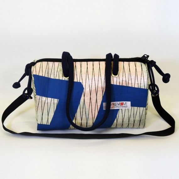 Navy, borsa bauletto
